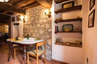 Mittelalterliche Stadtmauer-Wohnung