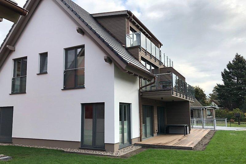 Haus -Terrasse