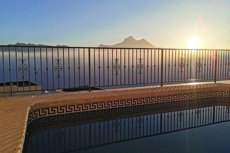 Bei diesen herrlichen Sonnenaufgang kann es nur ein schöner Tag werden