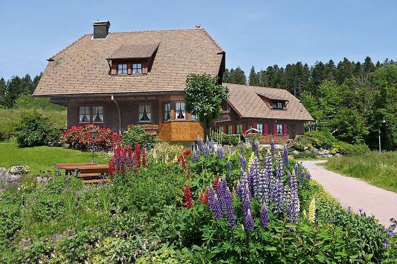 Landhaus Anja mit Ferienhäusern Kienberg und Hohenried