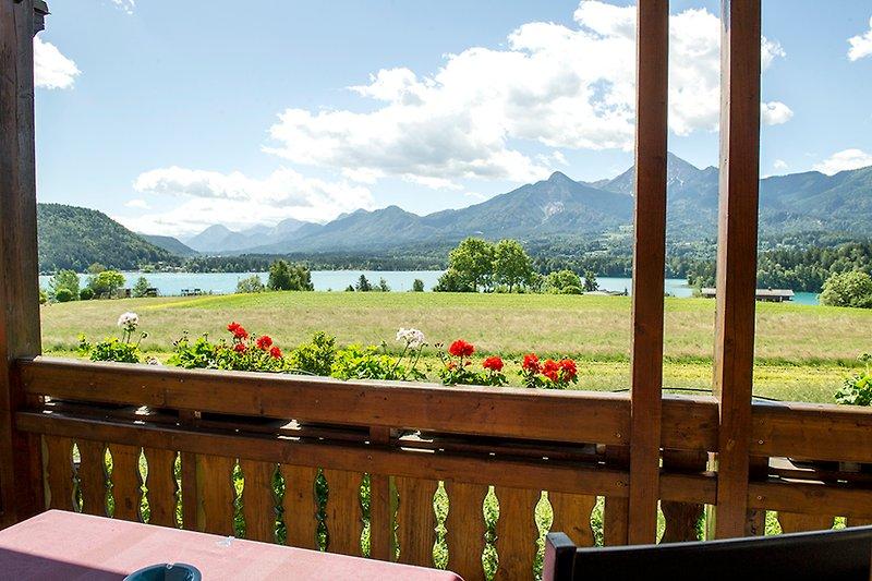 Ausschnitt vom Balkon, Geesamtpanorama auf unserer Homepage