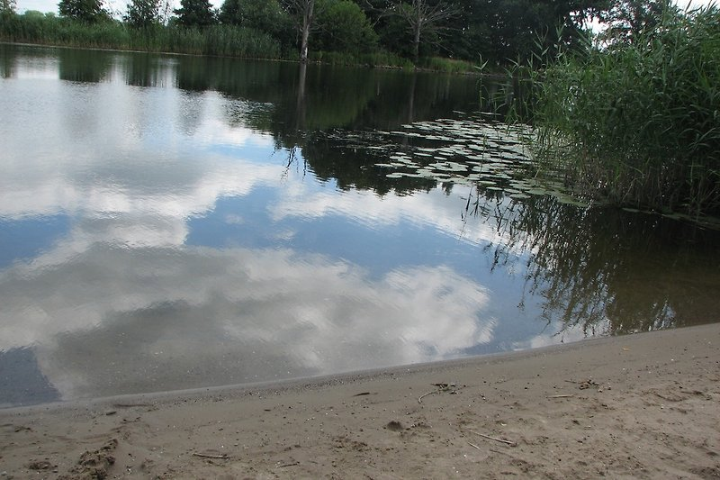 Badestelle in Böhne