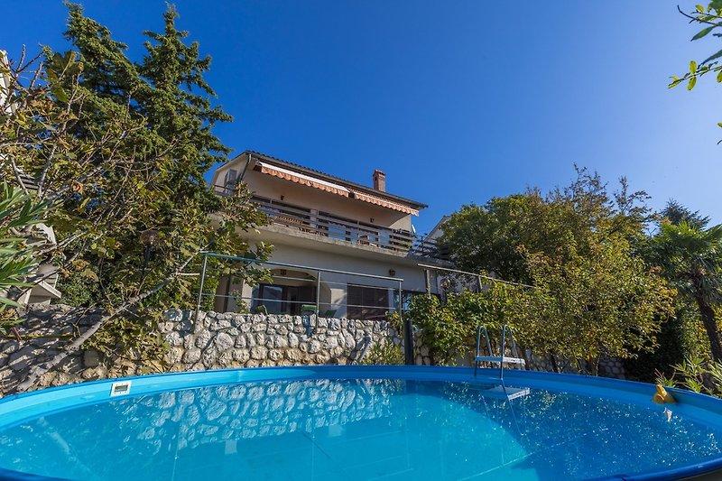 Ferienhaus mit Pool - Dario