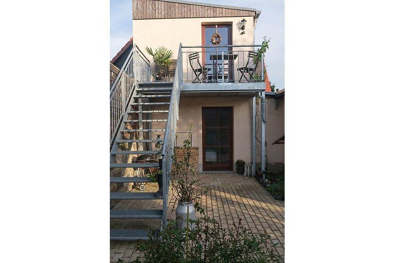 Eingang/Terrasse Ferienwohnung