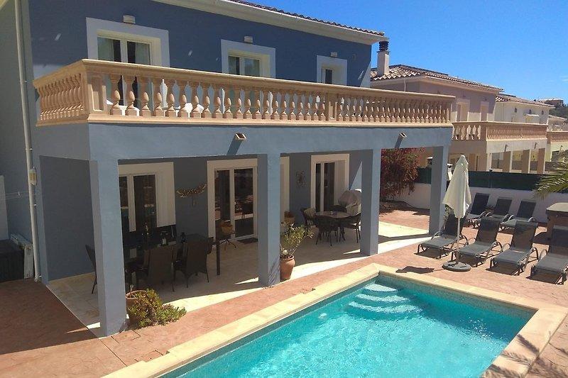 Villa Maria mit Privatpool