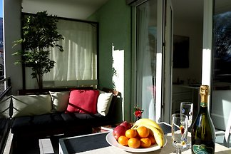 Gemütliches helles Studio, Terrasse