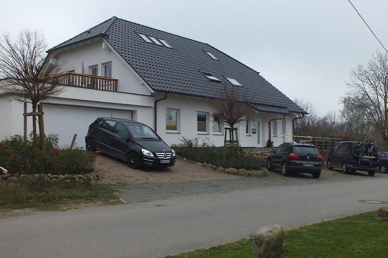 Haus Straßenanscht