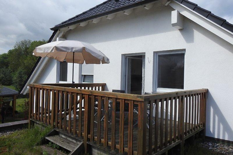 Balkon Große Ferienwohnung Ost-Seite