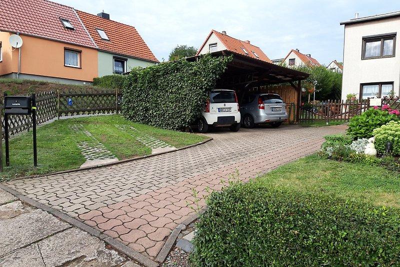 Gästeparkplatz