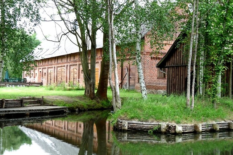 Ferienwohnung im Spreewald in Burg Hausbild