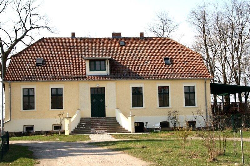 Ferienhaus im Spreewald in Golßen Gersdorf Hausansicht