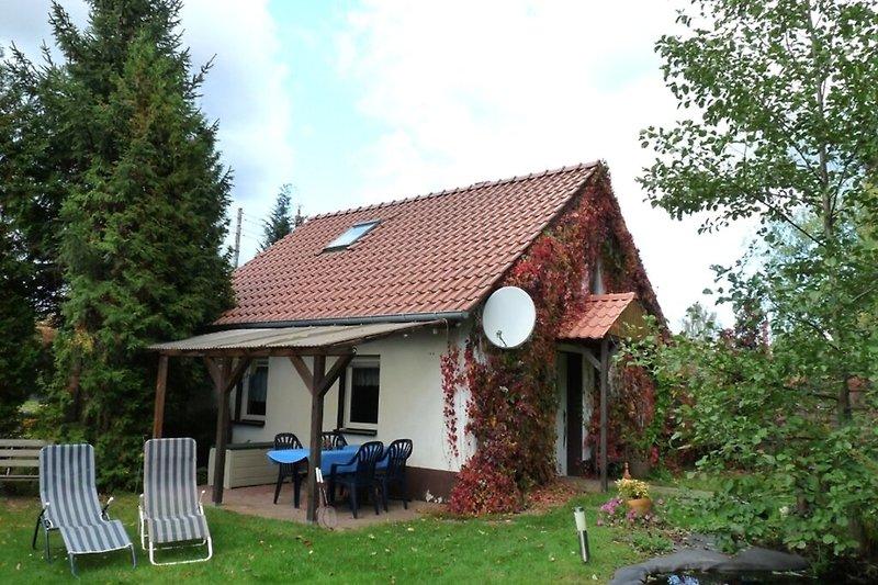 Spreewald Ferienhaus in Alt Zauche Hausansicht