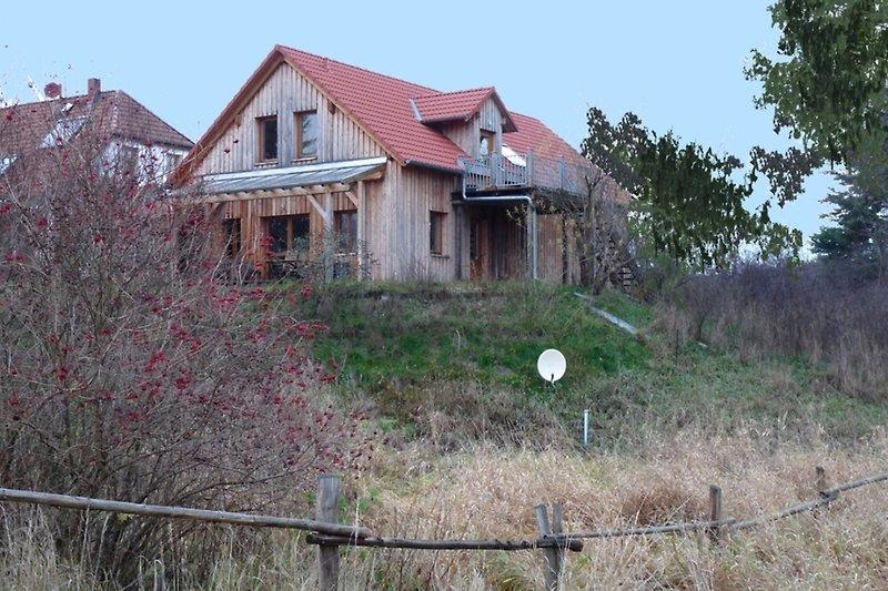 Ferienhaus in der Uckermark in Templin Metzelthin, Hausansicht