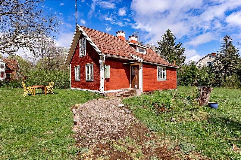 Haus mit Nebeneingang