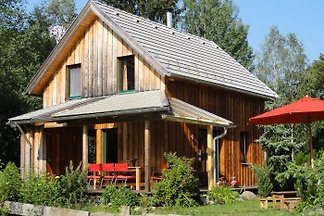 Solid wood cottage for 4-8 people