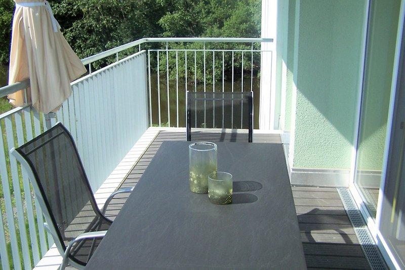 Balkon mit Graftblick