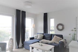 Modernes Apartment, hochwertig ausgestattet, eigene Sauna, Südbalkon! Vom DTV mit vier Sternen ausgezeichnet!