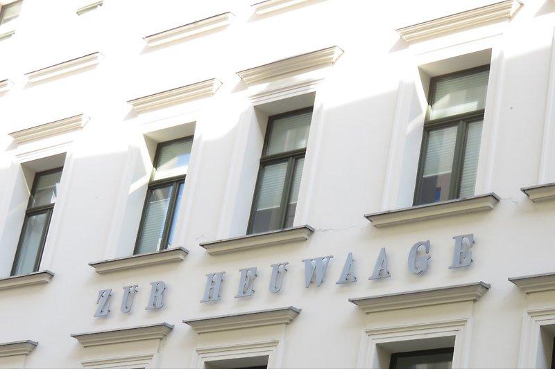 Haus von aussen - facade of the house