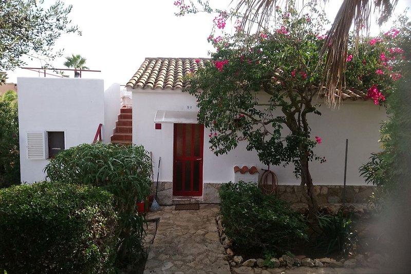 Casa Fuerte von der Straße gesehen