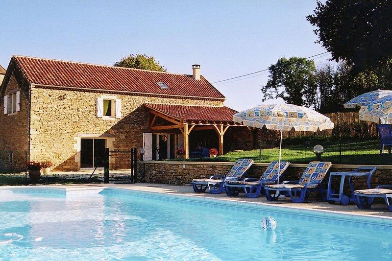 Exterieur vakantiehuis (zomer)