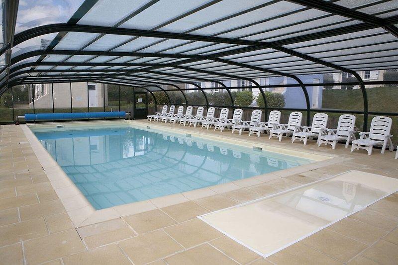 Schwimmbad des Ferienhauses