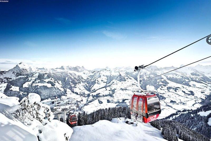 Umgebung (Winter) (1-5 km)