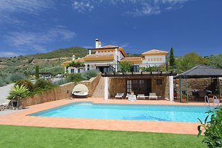 Luxuriöse Villa in Andalusien mit Sauna