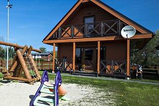 Schöne Ferienwohnung in Mielno am See
