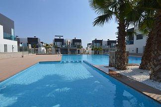 Chic Holiday Home in Orihuela Costa with Swim...