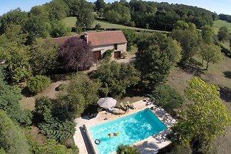 Idyllisches Ferienhaus in Thédirac mit...