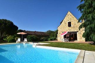 Authentiek vakantiehuis in Aquitaine met...