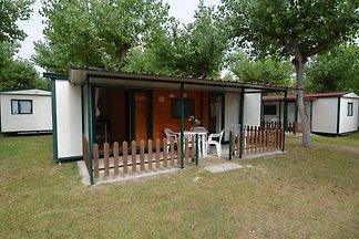 Freistehendes Chalet mit Terrasse umgeben von...