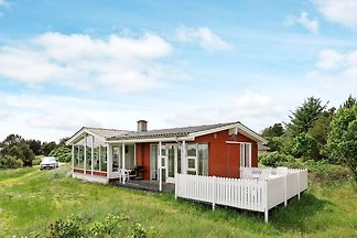 Luxuriöses Ferienhaus mit Sauna in Vejers...