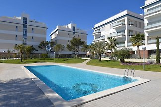 Modern Apartment with Swimming Pool in...