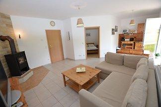 Ruhige Wohnung in Böhmen mit privater...