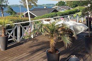 Luxus-Ferienhaus in Børkop mit Blick auf den ...