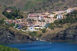 Bunte Ferienwohnung mit Balkon oder Terrasse ...