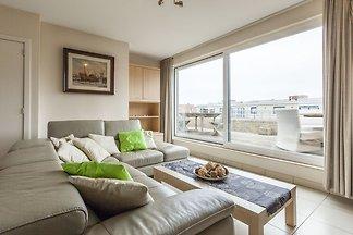 Meerblick-Apartment in Middelkerke mit...