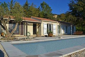 Schöne Villa in Berlou mit privatem...