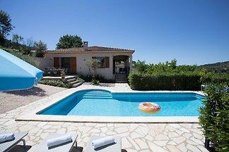 Moderne Villa in Félines-Minervois mit eigene...