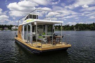 Hausboot auf der Dahme, Wildau