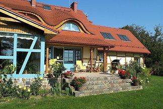 Casa de lujo de vacaciones en Pomerania con...