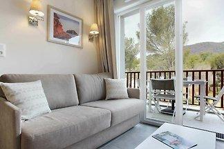 Schöne Wohnung mit Balkon oder Terrasse in...