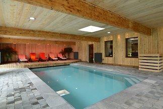 Luxuriöse Ferienwohnung in Bevercé mit...