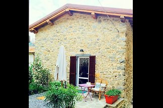 Old renovated house in the centre of the moun...