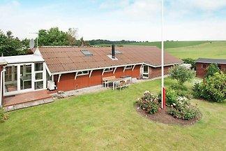 Modernes Ferienhaus in Rønde, Jütland, mit...