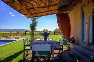 4-person villa with private swimming pool and...