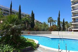 Moderne Ferienwohnung in Salou Katalonien mit...