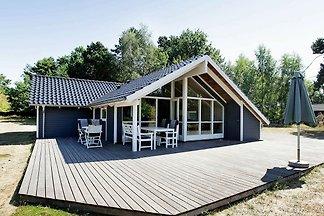 Geräumiges Ferienhaus in Seeland mit Sauna