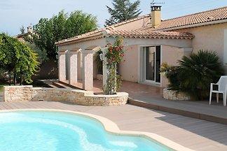 Gepflegte Villa im Languedoc-Roussillon mit...